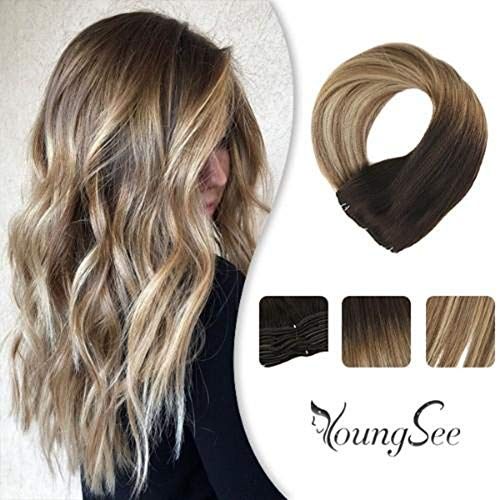 YoungSee Balayage Seamless Extensions Highlighted