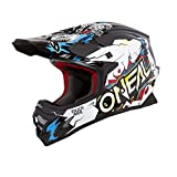 O'Neal Unisex-Child Off Road 3SERIES Youth Helmet (VILLAIN) (White, x-large)