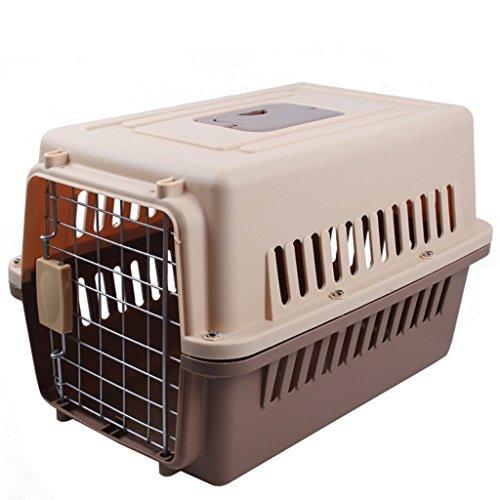 NYDZDM Jaula de Jaula de Mascotas Jaula de Gato de tamaño Grande y Mediano Jaula de Perro Caja de envío Caja de envío Caja...