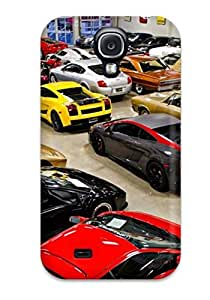 Fashion Tpu Case For Galaxy S4- Sport And Classic Cars Defender Case Cover