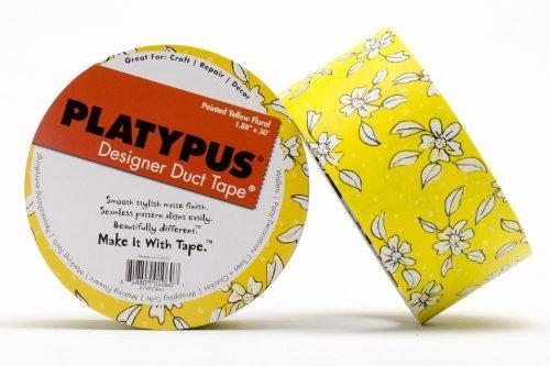platypus-designer-duct-tape-painted-yellow-floral-by-platypus-designer-duct-tape