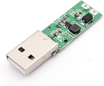 5V USB Input to 12V Output DC-DC Step Up Boost Power Supply Converter ModuleTTT