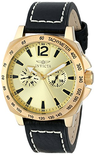 Multifunction Gold Dial (Invicta Men's 0856 II Collection Multi-Function Gold Dial Watch)