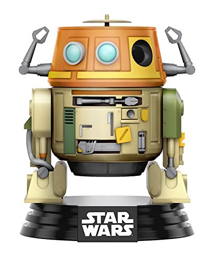 Funko 10771 Pop Star Wars Rebels Chopper Vinyl Bobble-Head Figure, 3.75-Inch