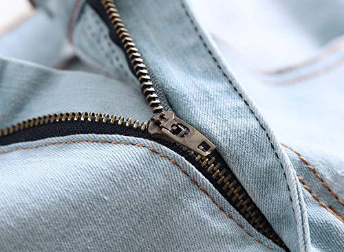 De Pantalones Skinny Mezclilla Joven Summer Vaqueros Ssige Den Yasminey Slim Vaqueros Cortos Cremallera Pantalones Pitillo Cortos Rectos Pantalones Blue3 con Pantalones Pantalones R wFITEtxEq