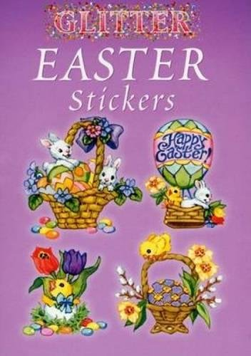 Glitter Easter Stickers (Dover Little Activity Books Stickers ...