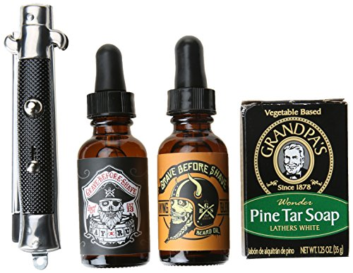 Grave Before Shave Beard Pack