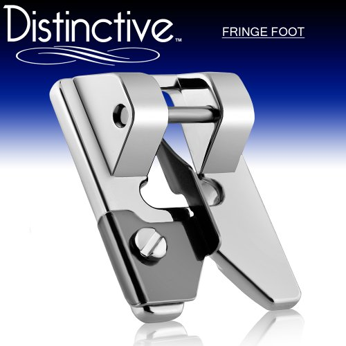 Distinctive Fringe Sewing Machine Presser Foot - Fits All Low Shank Snap-On Singer, Brother, Babylock, Euro-Pro, Janome, Kenmore, White, Juki, New Home, Simplicity, Elna and More! -  DFRINGESF