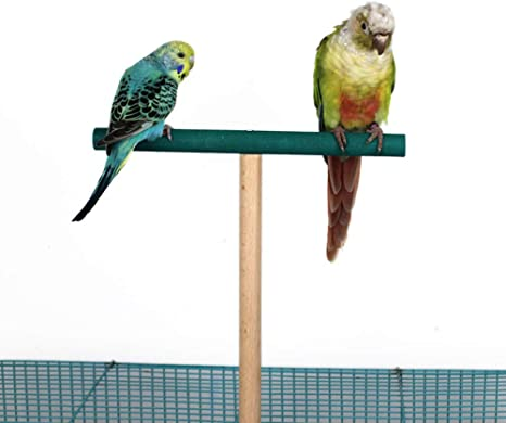 Parrot Birdcage Stand Natural Toys Natural Wooden Activity Branches Climbing Stairs for Conure Parakeet Budgie Cockatiels Lovebirds ZJL220 Bird Perch