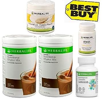 Amazon.com: Herbalife Mensual Pérdida de Peso del paquete ...