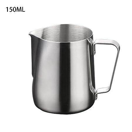 Spachy Jarra de Acero Inoxidable para espumar Leche, café, Latte ...