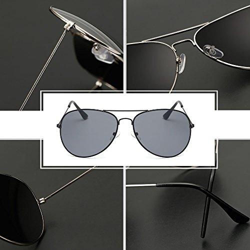 Butterfly Hommes Goggles gris Bozevon Retro Noir Et Métal Femmes Vintage De Pour Lunettes Soleil Steampunk S77qEnxp