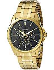 Citizen Mens Quartz Watch with 12/24 hour time and Day/Date, AG8342-52L