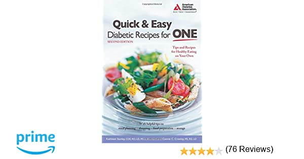 Easy recipes for singles