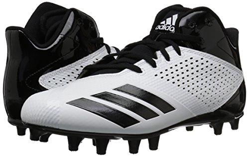 black Da Originals Adidas White 5 Mid 5 Uomo black Star Uqwf8waxB