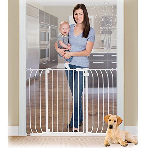 Summer Infant Anywhere Auto-Close Metal Gate, White