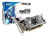 6570 low profile - MSI AMD Radeon R6570-MD1G/LP Video Card - Silver/black