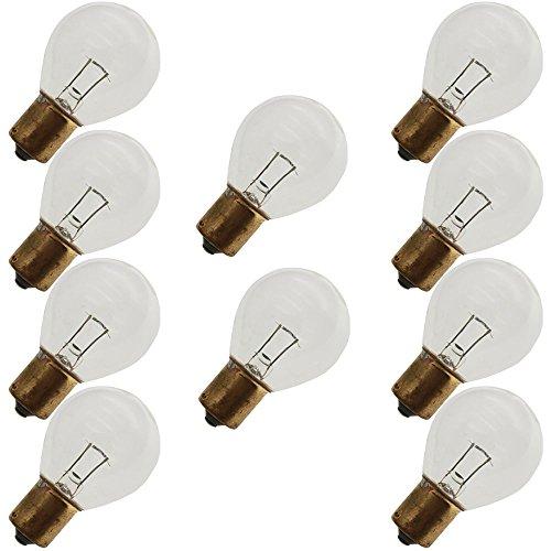 (Industrial Performance 18S11/1SC/LL 10V, 18 Watt, S11, Bayonet (BA15S) Base Light Bulb (10 Bulbs))