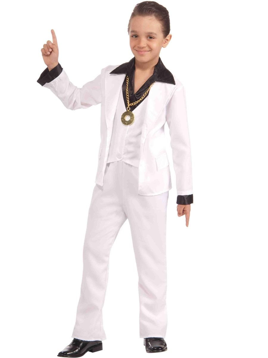 Forum Novelties Boy's 70's Disco Fever Costume