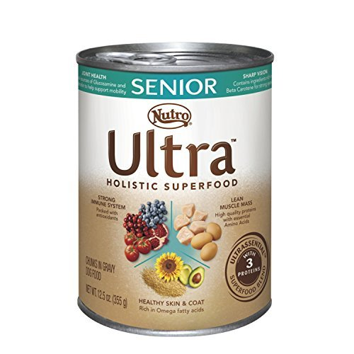 Nutro ULTRA Senior Canned Dog Food 12.5 Ounces by Nutro Ultr