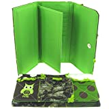 Cute! Owl Patchwork Camo Polka Dot Wallet Owls (green), Bags Central