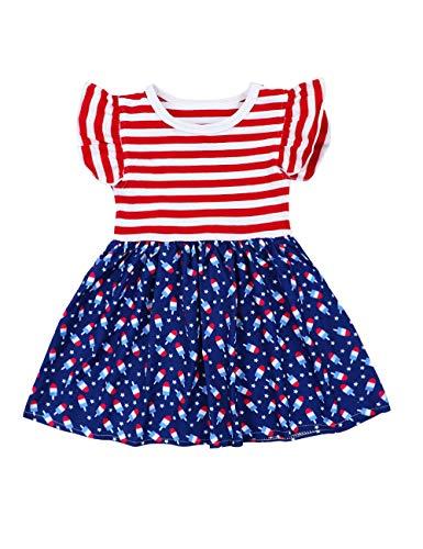 4th of July Dress Toddler Kids Baby Girl