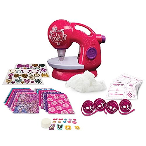 Sew Cool Deluxe Glitter Sewing Machine - Threadless Sewing Machine