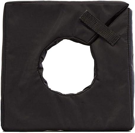 Black camera lens neoprene protection LCHXLBK LensCoat Hoodie X Large