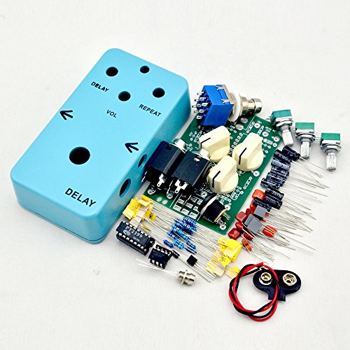 TTONE DIY Delay Analog Pedal and Sky Blue 1590B Case