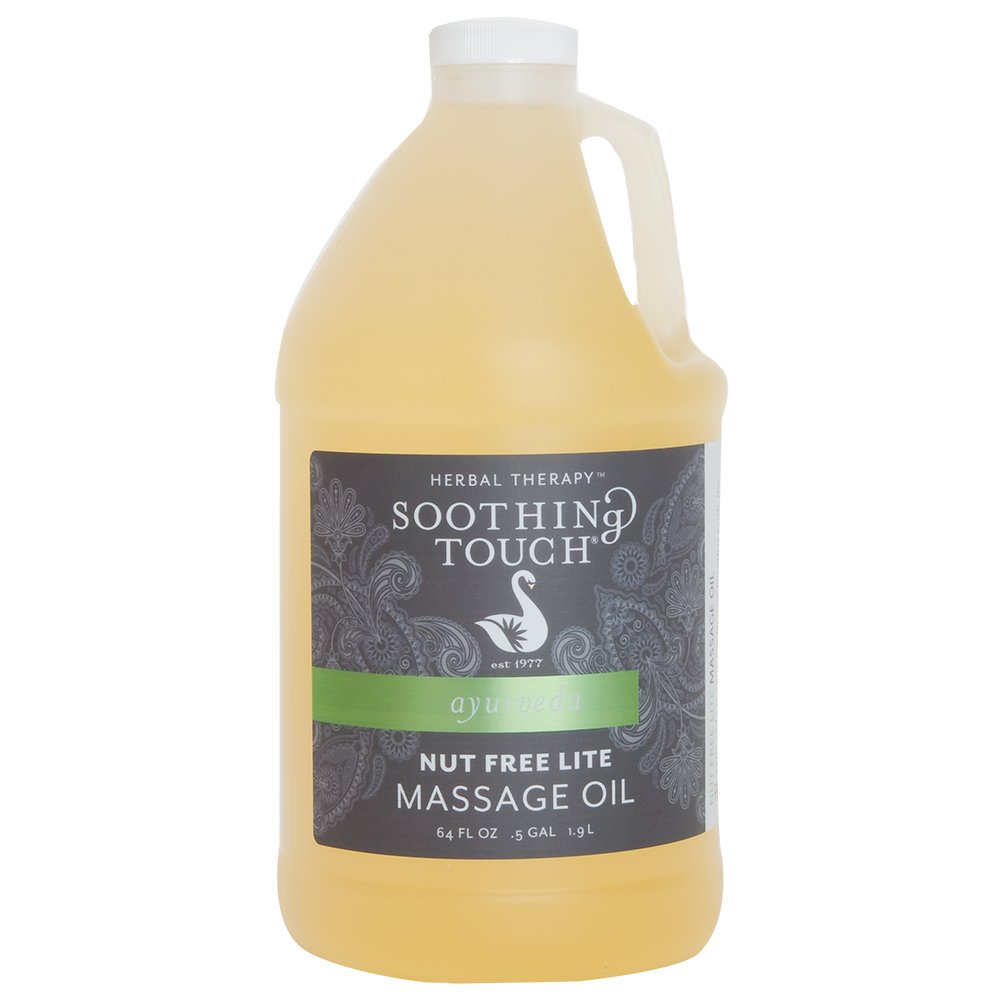 Soothing Touch Nut Free Lite Massage Oil 1/2 Gallon