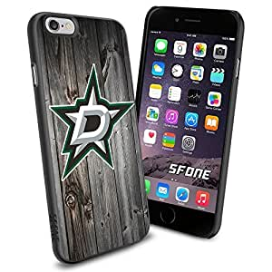 Dallas Stars Black Wood #1683 Hockey iPhone 6 (4.7) Case Protection Scratch Proof Soft Case Cover Protector