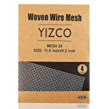 4PACK 304 Stainless Steel Woven Wire Mesh