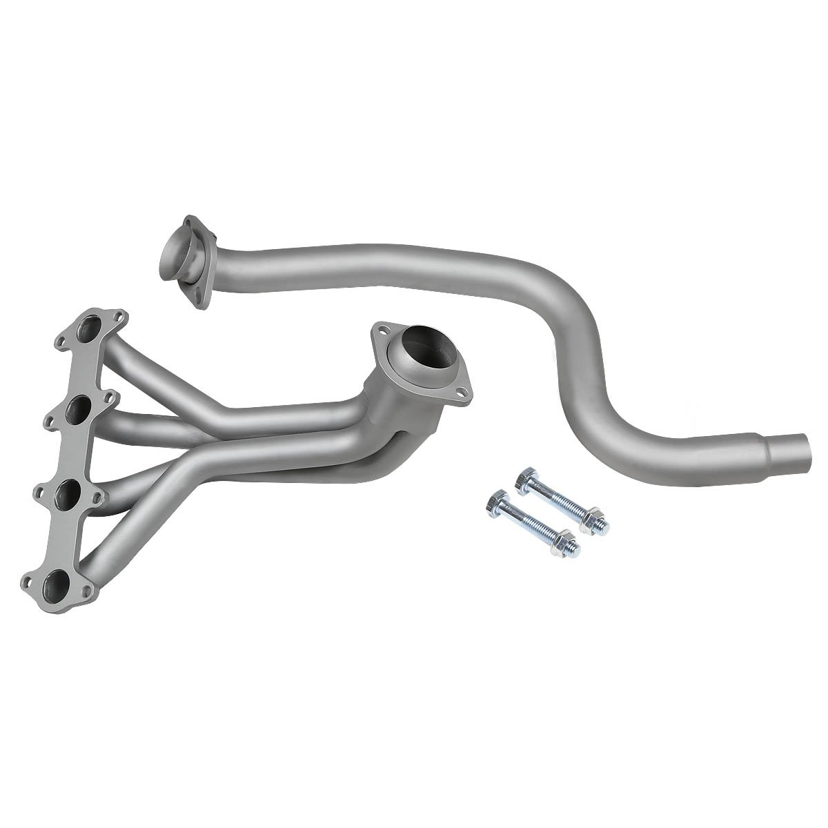 For Chevy Cavalier//Pontiac Sunfire 2.2L LN2 4-1 Stainless Steel Header//Exhaust Manifold Silver