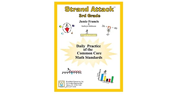 3rd Grade Common Core Math - Daily Math Practice Worksheets ...