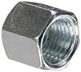 Eaton Weatherhead ML7105X8 Carbon Steel DIN Fitting, Metric Flareless Nut, 8 mm Tube OD