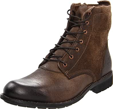 Timberland Men's Earthkeepers City Zip Lace-Up Boot,Brown/Brown,7.5 M US