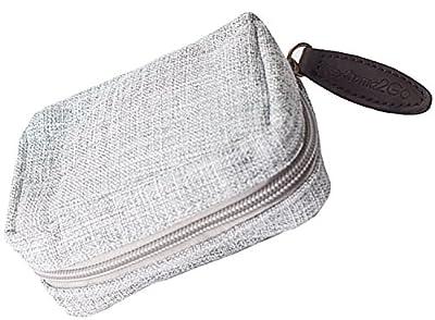 Aroma2Go Hemp Bag Essential Oil Travel Case Carrier Holds 6 15ml Bottles