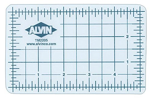 (Alvin Translucent Professional Self-Healing Cutting Mat, 8 1/2