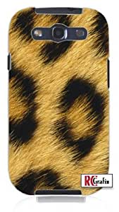 Cool Painting Hot Leopard Animal Skin Hair Unique Quality Hard Snap On Case for Samsung Galaxy S4 I9500 - White Case