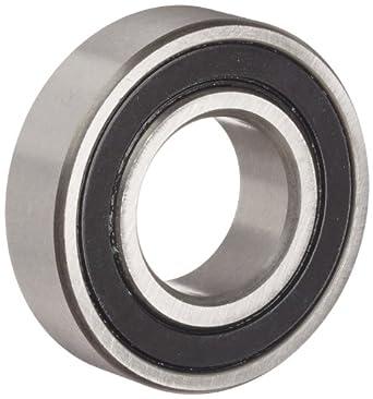 Dynaroll R-Series Ball Bearing, Double Sealed, 52100 Chrome Steel