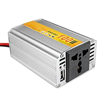 JenNiFer SGR-NX1012 Car Auto Power Inverter Converter Adapter 100W DC12V to AC220V Output