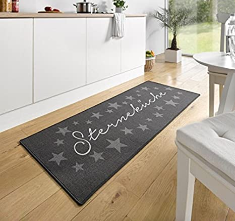 Hanse Home 102369 - Tappeto da cucina, motivo: Sterneküche, 67 x 180 ...