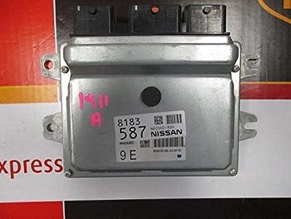 Amazon com: 14-16 NISSAN VERSA Engine ECM Electronic Control