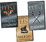 Raymond E. Feist Riftwar Saga 3 Books Collection Set Pack (Magician, A Darkness at Sethanon, Silverthorn) NEW
