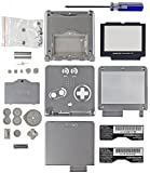 Game Boy Advance SP [GBA SP] Replacement Shell [Platinum Silver] [Mortoff Games]