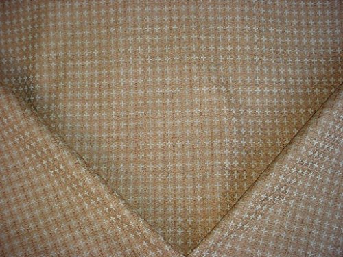 Robert Allen Plus Good in Driftwood - Etched Lattice / Trellis Chenille Designer Upholstery Drapery Fabric - By the (Kravet Silk)