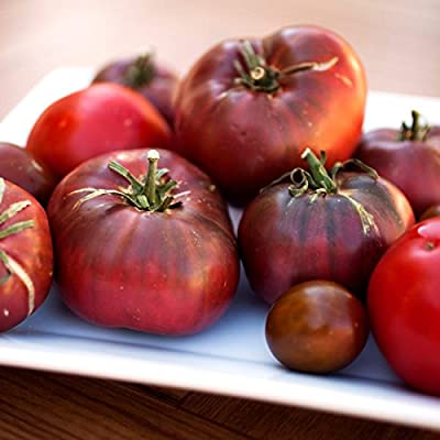 Tomato Garden Seeds - Cherokee Purple - Non-GMO, Heirloom Vegetable Gardening Seed