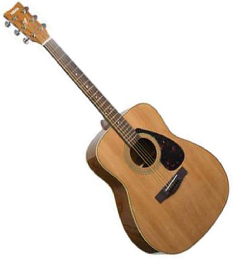 Instrumentos musicales Guitarra eléctrica Yamaha F310 Junta Balada eléctricos Box Principiante Estudiantes Hombres y Las Mujeres de 41 Pulgadas Guitarras (Color : Wood Color, Size : 103 * 40 * 12cm)