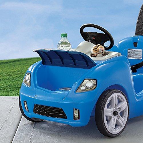 510wD 07ELL - Step2 Whisper Ride II Ride On Push Car, Blue