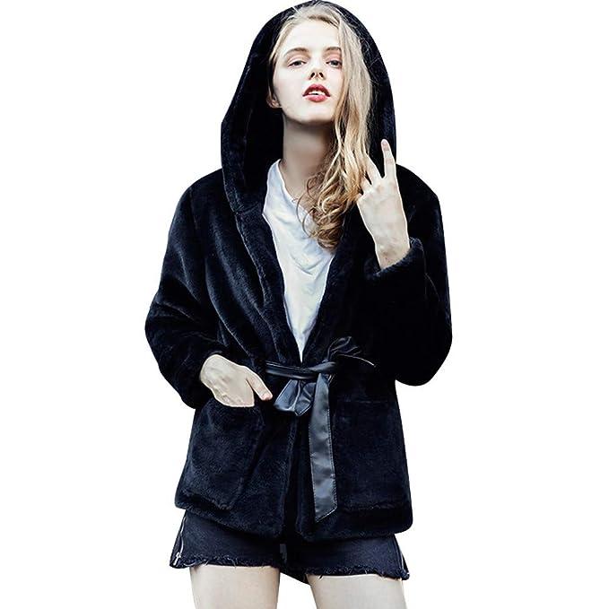 POLP Abrigos mujer de Invierno Mujer Calientes Sudadera con Capucha de Jersey de la impresión del